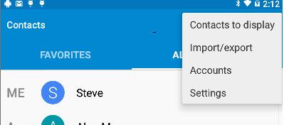 contacts-menu