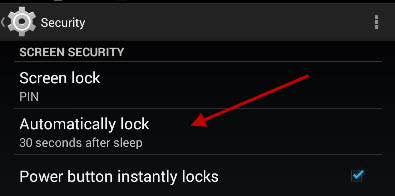 automatic-lock-setting