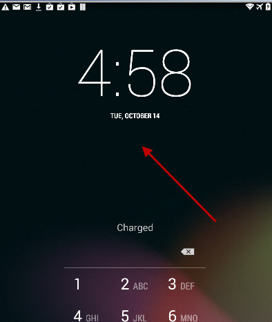 default-lockscreen-clock