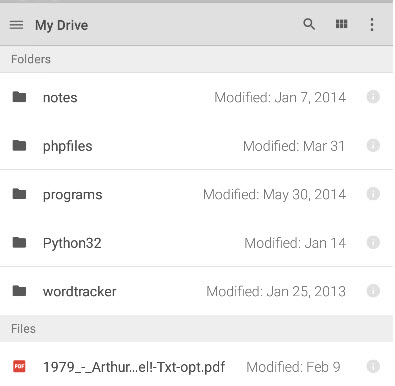 How to Use Google Drive on Android