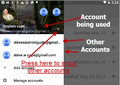 Google-drive-multiple accounts