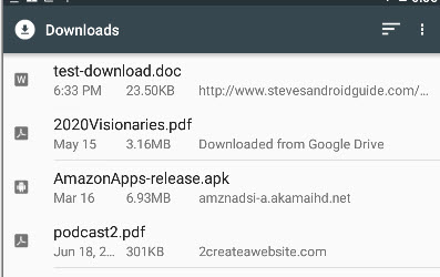 android-downloaded-files-list