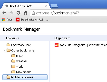 chrome-bookmarks-sync