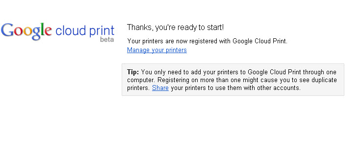 google-printers-registered
