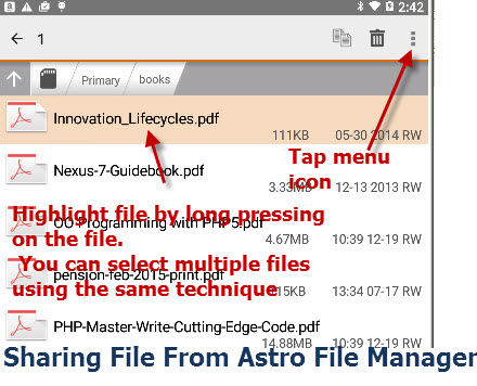 How To Pdf From Email On Android
