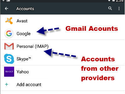 Google-gmail-accounts