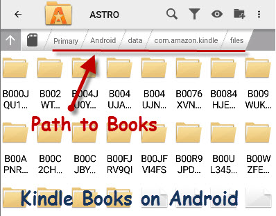 Reading and Managing Kindle Books on Android