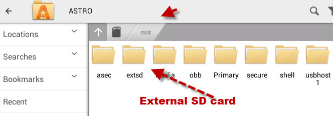 astro-external-sd-card