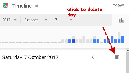 delete-day-location history