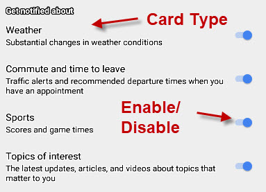 enable-google-now-cards