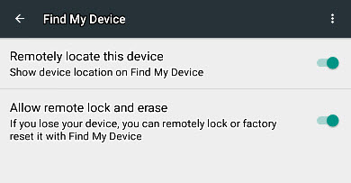find-device-options