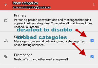 gmail-android-disable-tabeed-categories