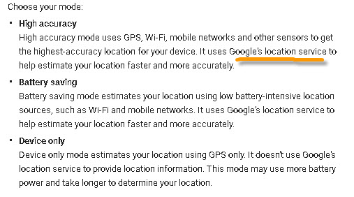 location-detection-modes