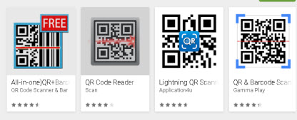Using QR Codes On Android