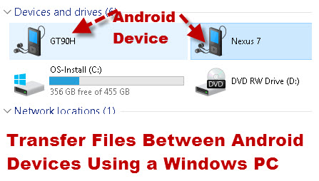 How to Transfer Files From Android to PC Using USB Cable