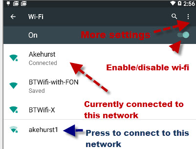 Understanding Android Wi-Fi Settings and Connections